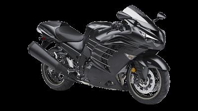 Kawasaki Ninja ZX-14R spark black HD Image