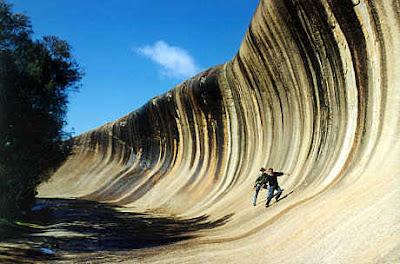 Wave Rock, Ombak Batu Unik di Australia
