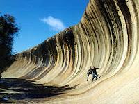 Wave Rock, Ombak Batu Unik Menakjubkan di Australia