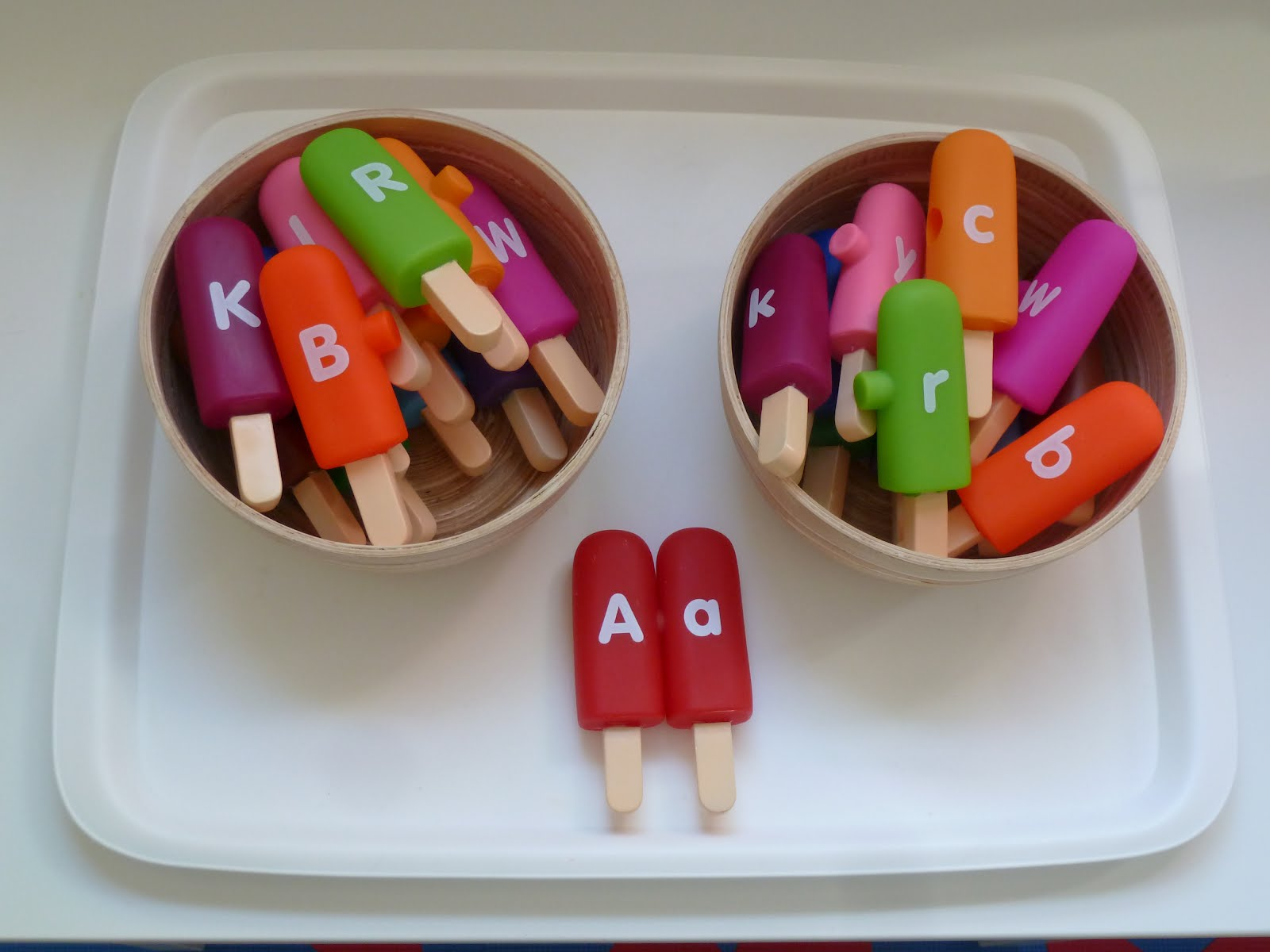 Family Fecs Fun With Matching Upper Amp Lowercase Letters