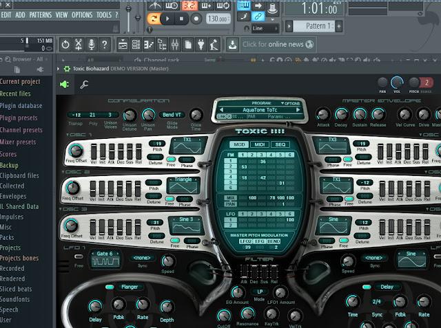 تحميل برنامج fl studio 12  لانشاء الاغاني بصوتك بكل احترافية متل الاستوديو