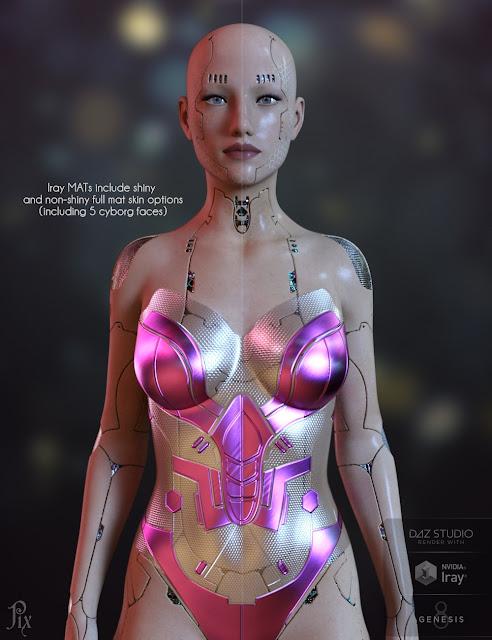 Pix Venus500 for Genesis 8 Female