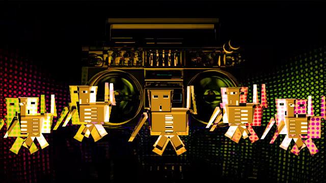 Thế giới ảo của nhóm nhảy Robot