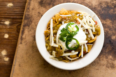Green chile Frito pie | Homesick Texan