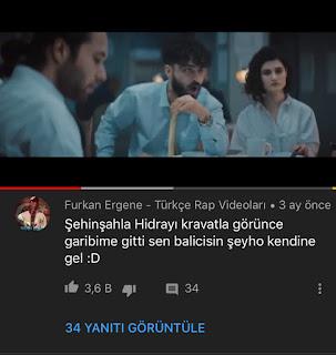 Şehinşah, pirana, rap