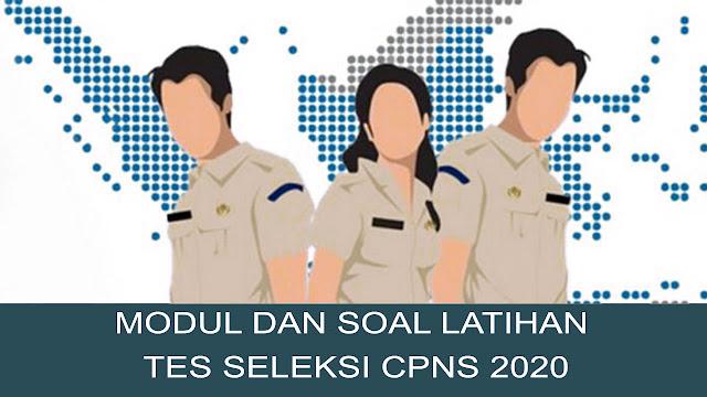 DOWNLOAD SOAL PREDIKSI TES CPNS 2020