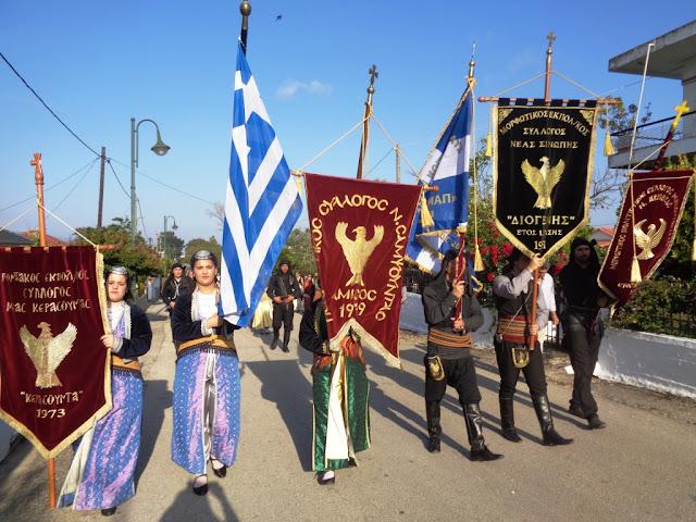 Με την εικόνα του Αγ. Γεωργίου Περιστερεώτα οι εκδηλώσεις Μνήμης στη Νέα Σαμψούντα Πρεβέζης