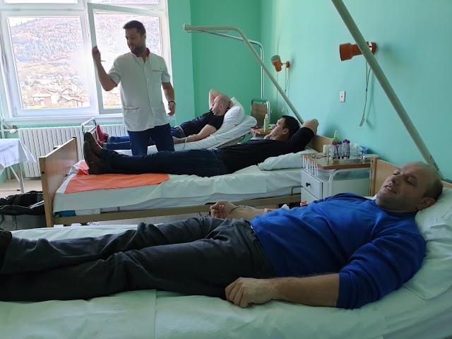 Mladi BS Plav donirali krv za povrijeđene u zemljotresu u Albaniji