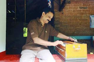 Dr Rajith Kumar Playing Harmonium