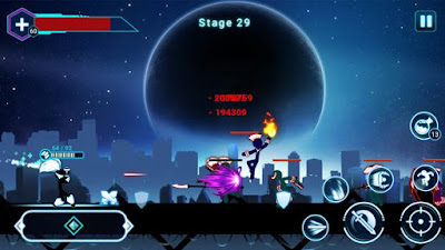 Stickman Ghost 2: Gun Sword - Shadow Action RPG v6.5 Mod Apk (Unlimited Money) - ReddSoft