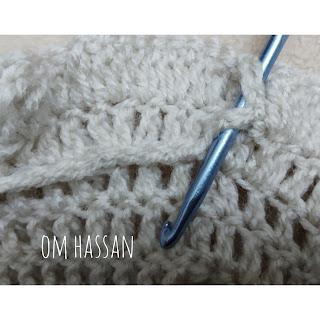 crochet a layered dress