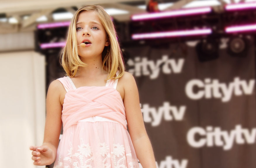 jackie evancho 2013 modeling jackie evancho getty images