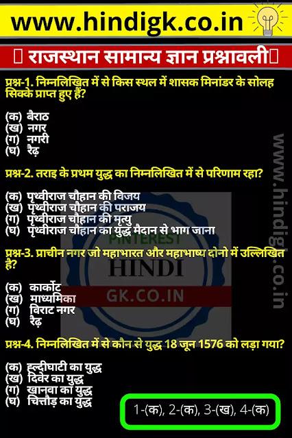 Rajasthan gk pdf- राजस्थान सामान्य ज्ञान प्रश्नावली