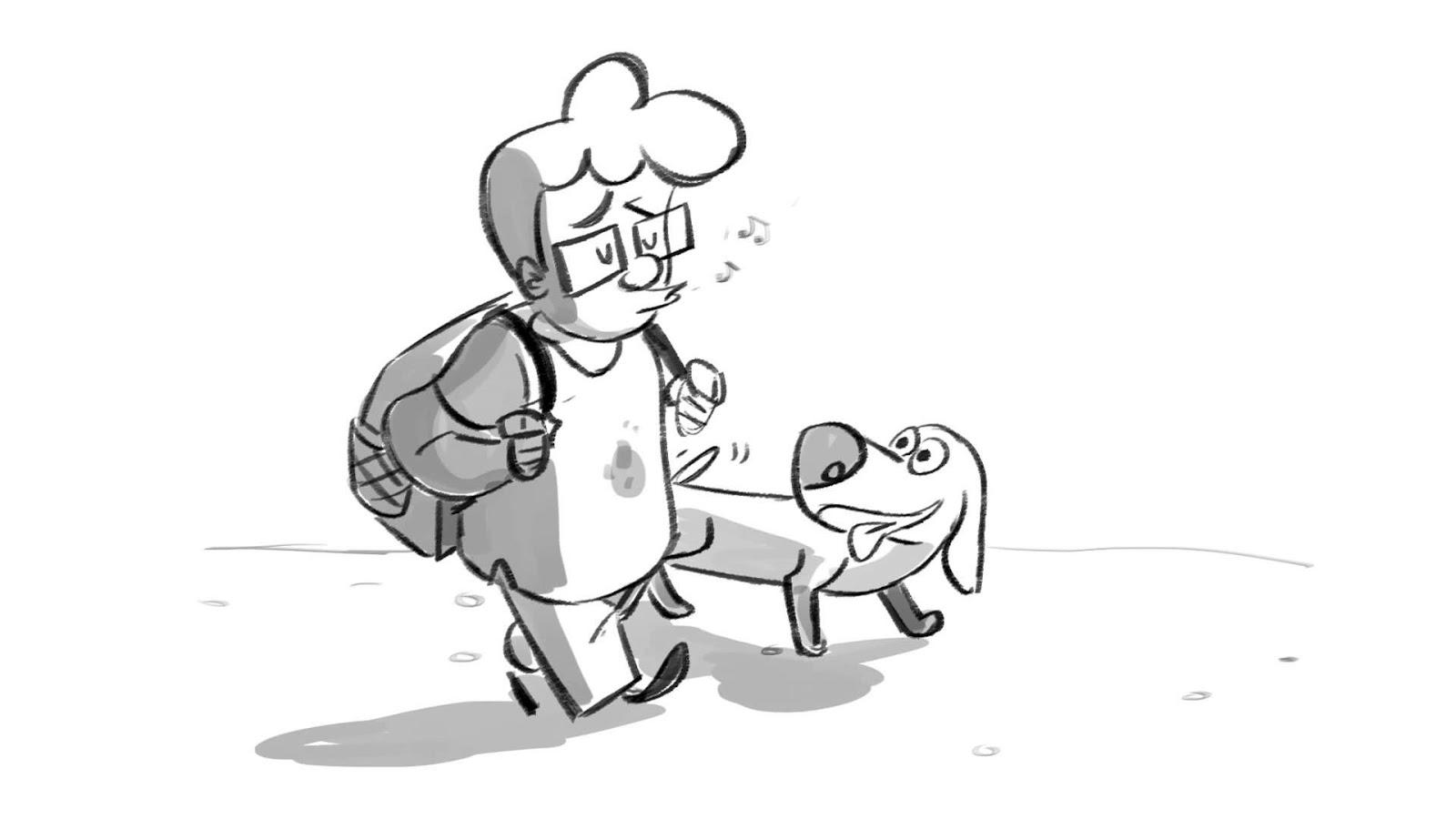 Gambar Animasi Anticipation Elemen Prinsip Animasi Solid Drawing Bagian 9 Oleh M S Gumelar