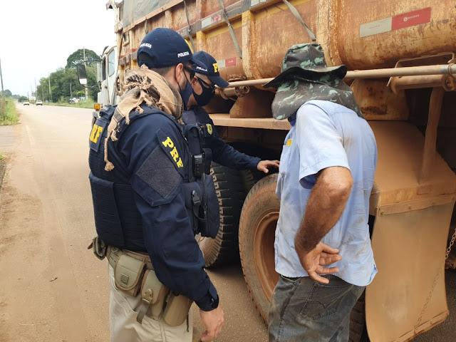 Mais de 60 veículos são fiscalizados durante operação da PRF e do Dnit em Porto Velho
