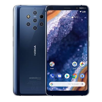 سعر و مواصفات هاتف جوال بيور فيو Nokia 9 PureView في الأسواق