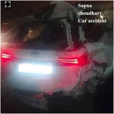 सपना कार accident