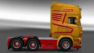 Scania RJL Hedi Trans skin mod