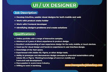 Lowongan Kerja UI/ UX Designer Halalpedia