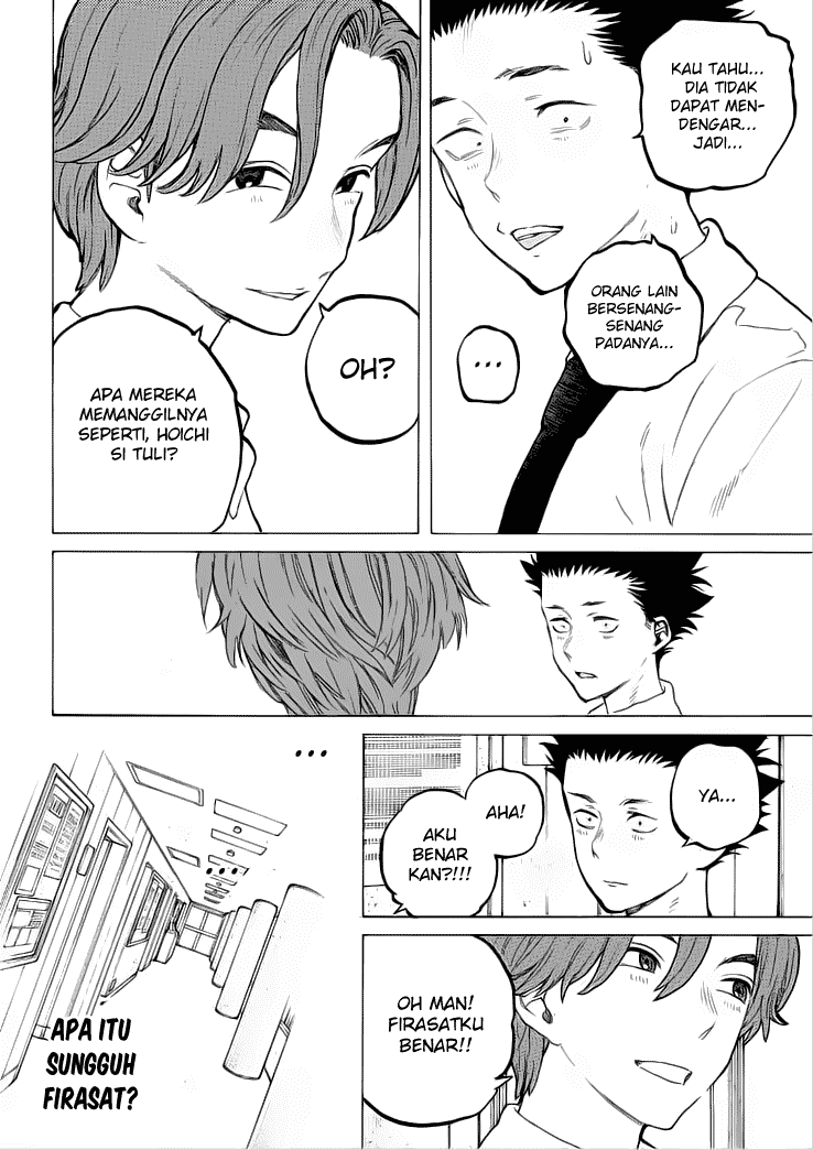 Koe no Katachi Chapter 37-13