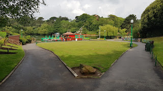 Putting Green at Peasholm Park in Scarborough