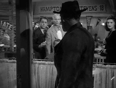 Rondo Hatton en una secuencia de The Brute Man