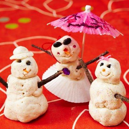 Homemade Snow Dough