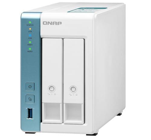 QNAP 4TB Storage Capacity 2 Bay Home NAS