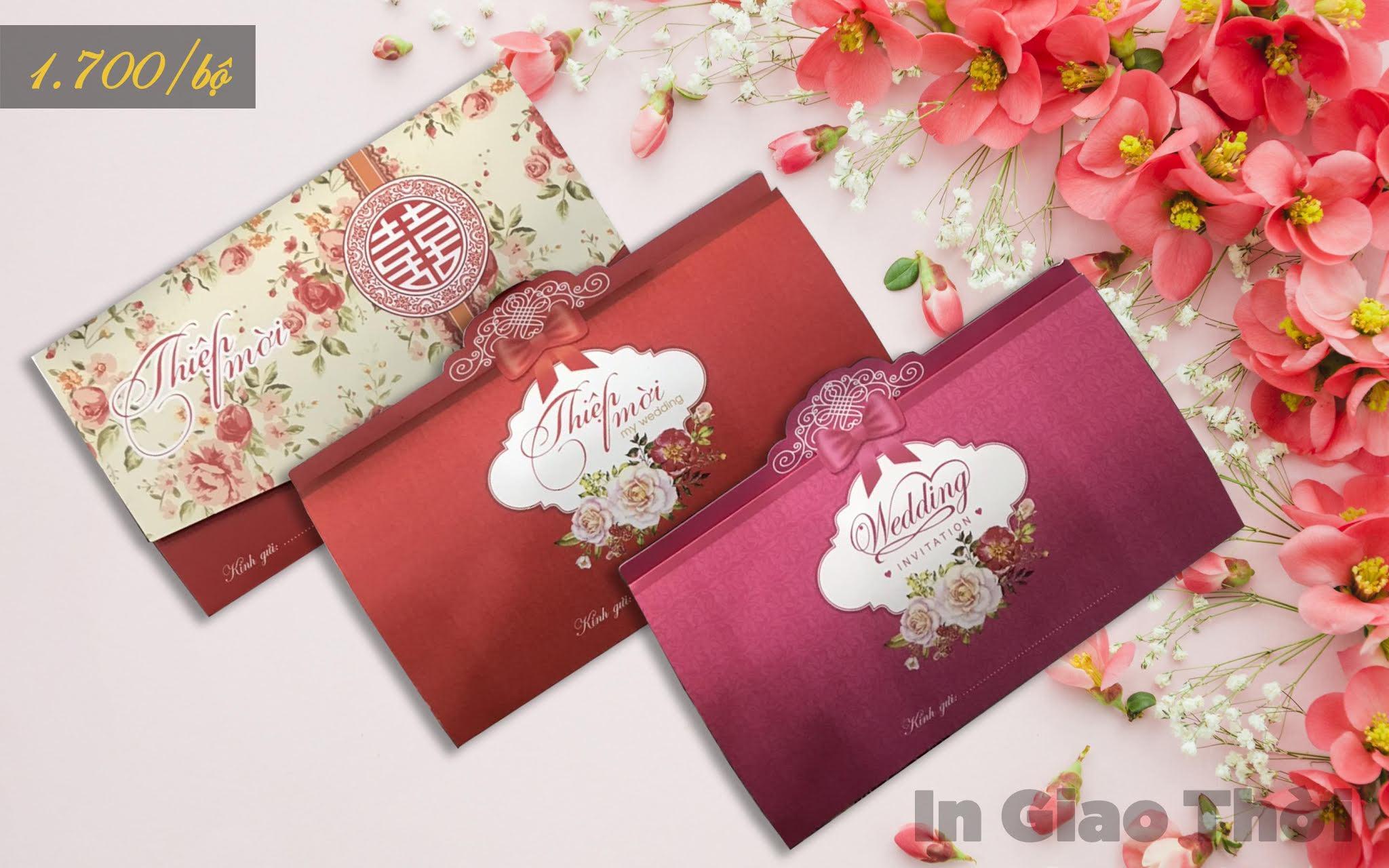 giá thiệp mời đám cưới tại Đà Nẵng