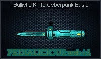 Ballistic Knife Cyberpunk Basic