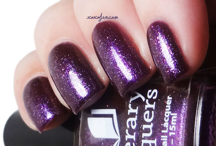 xoxoJen's swatch of Literary Lacquers Cast from Stormhold