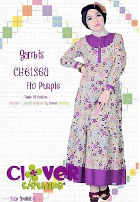 Model Baju Muslim Gamis Bahan Katun Terbaru