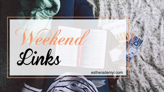 weekend links