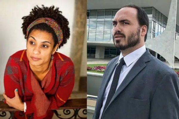 Em mais uma tentiva de ataque a família Bolsonaro, mídia marrom associa filho de Bolsonaro ao caso Marielle