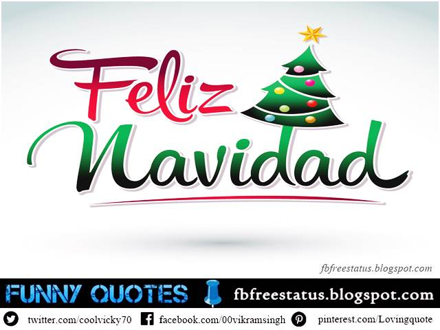 Christmas Wishes Spanish, Christmas Messages Spanish
