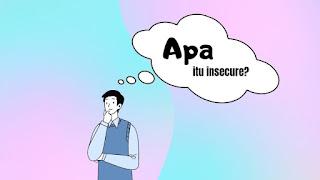 3 kunci atasi insecure