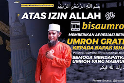 Menghalau Anjing Masuk Masjid, Bapak Ishak Dapat Umroh Gratis