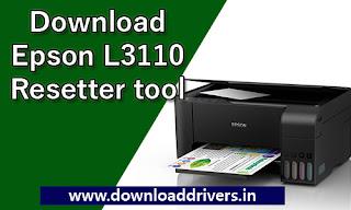 Epson, Resetter, software, L3110, Adjustment, WIC Key, Reset Key, Download