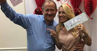Marido de Andréa Fontes recebe alta após  dois infartos