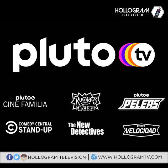 Pluto TV añadirá siete nuevos canales a su plataforma para Latinoamérica