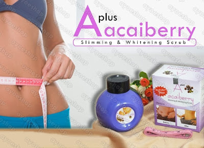 A Plus Acai Berry Slimming & Whitening Scrub