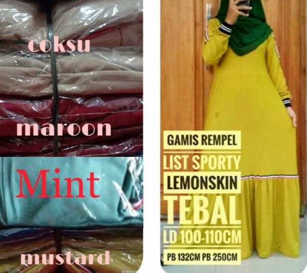 Gamis Rempel List Sporty G-059