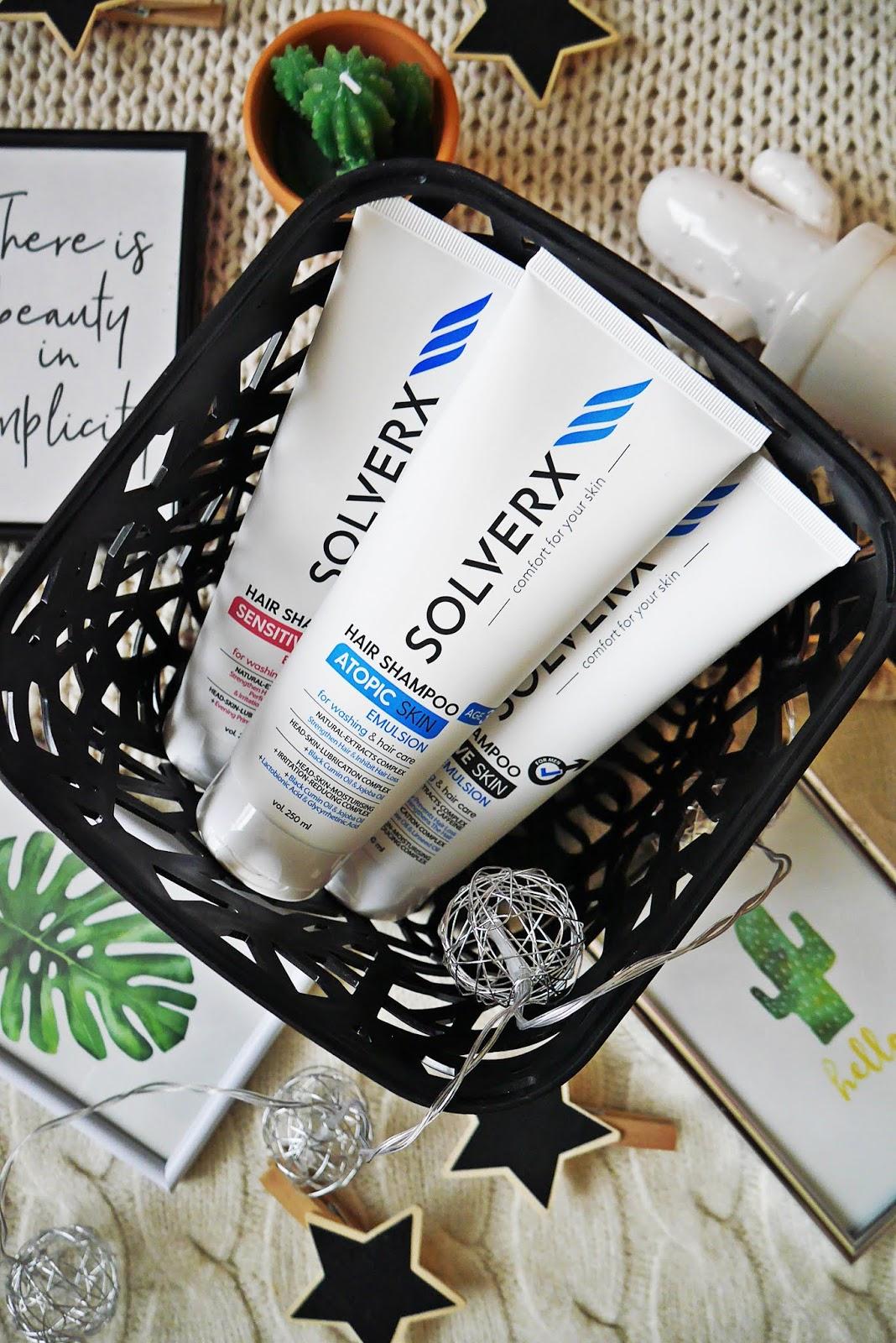 solverx szampon dla kobiet mężczyzn do skóry atopowej test dla skóry wrażliwej blogerka urodowa modowa beauty blogger fashion blogmedia zblogowani