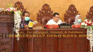 DPRD Kota Bima Gelar Rapat Paripurna Ke-4 Masa Sidang II