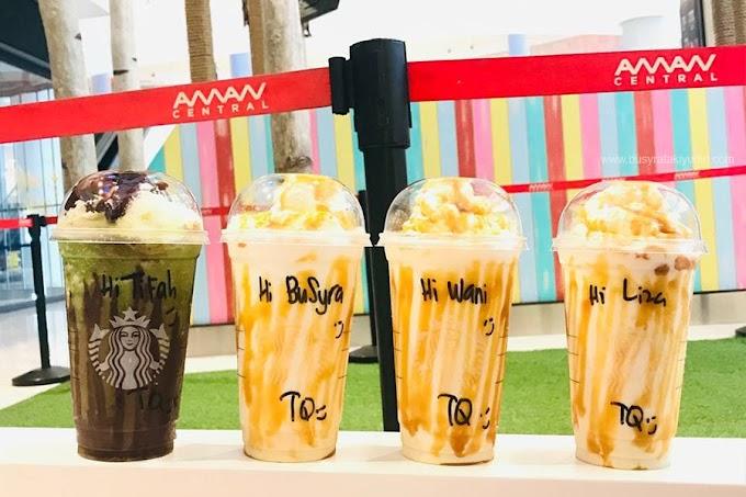 Cara Order Air Starbucks Butterbeer Frappucino