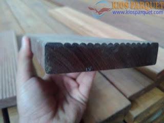 Harga lantai kayu untuk halaman atau outdoor ulin sulawesi