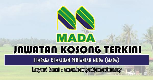 Jawatan Kosong 2019 di Lembaga Kemajuan Pertanian Muda (MADA)