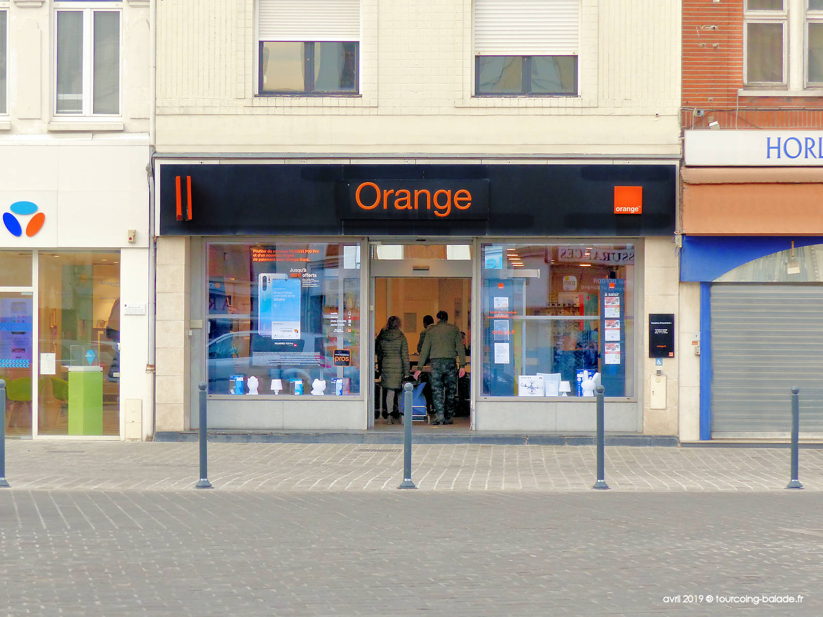 Agence Commerciale Orange, Tourcoing centre