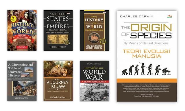 Buku Sejarah dan Kebudayaan Untuk Koleksi Perpustakaan Desa