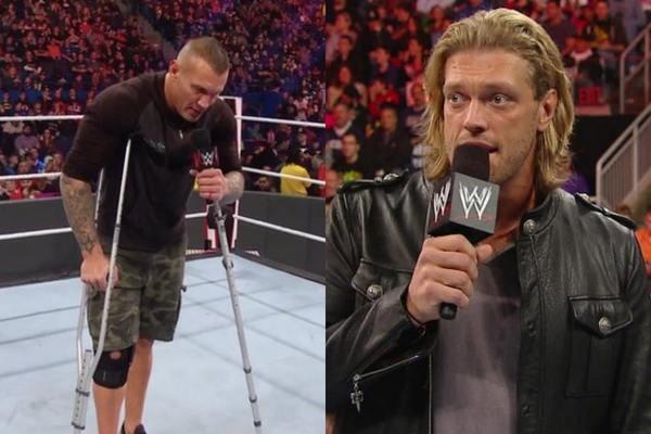 فيديو: بعد عودته ل WWE ايدج يتعرض لهجوم عنيف من راندي اورتن وكاد أن ينهي مسيرته مجددا